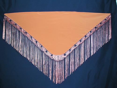 Handmade shawl - Orange