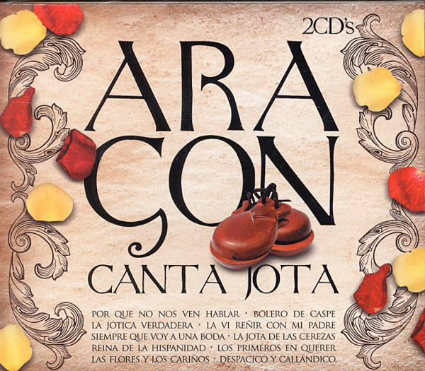 Aragon sings Jota. 2Cds