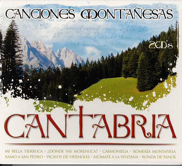 Cantabrian highland songs. 2Cds
