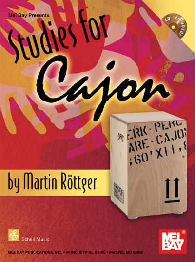 Studies for Cajon by Martin Rottger. Score books