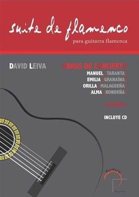 Suite de flamenco pour guitare flamenca. David Leiva. Livre/CD