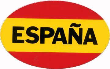 drapeau espagne autocollant - Drapeau Espagnol A Imprimer