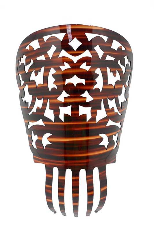 peineta de concha para mantillas imitación carey peinetas para