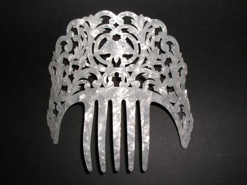 Mother of Pearl Comb - ref. N0153