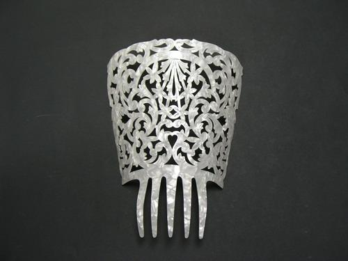 Mother of Pearl Comb - ref. 202