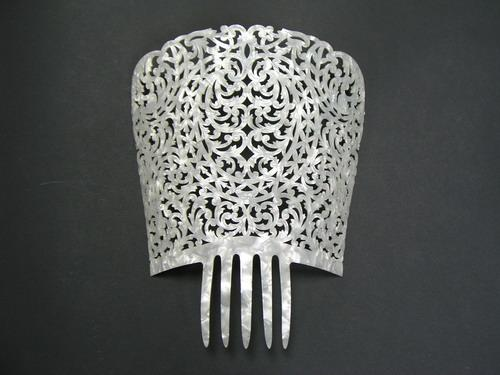 Mother of Pearl Comb - ref. 278