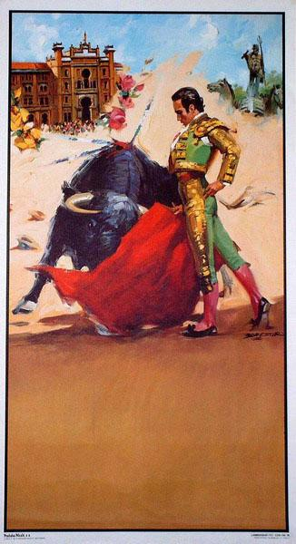 The bullfighting posters with bullfighting scenes ref. 194