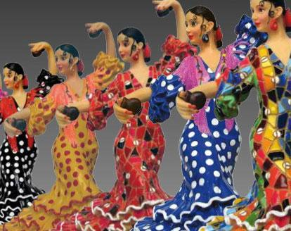 Flamencas and Bullfighters. Barcino