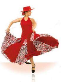 Robe de danse flamenco ref. E3666PS10PS151