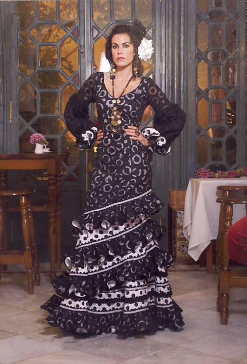flamenco dress sevilla. Black Bedroom Furniture Sets. Home Design Ideas