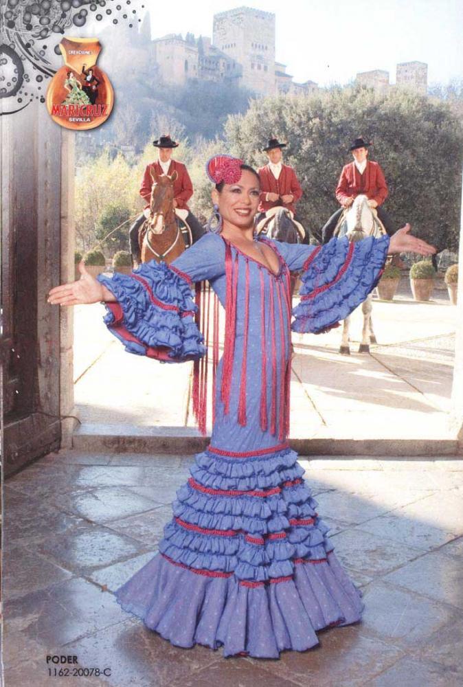 Trajes de Flamenca Señora. Aroma
