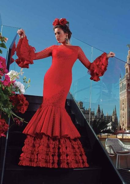 Flamenca costume Pasion model