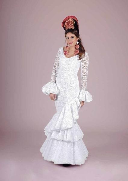 Flamenca Costume. Croche