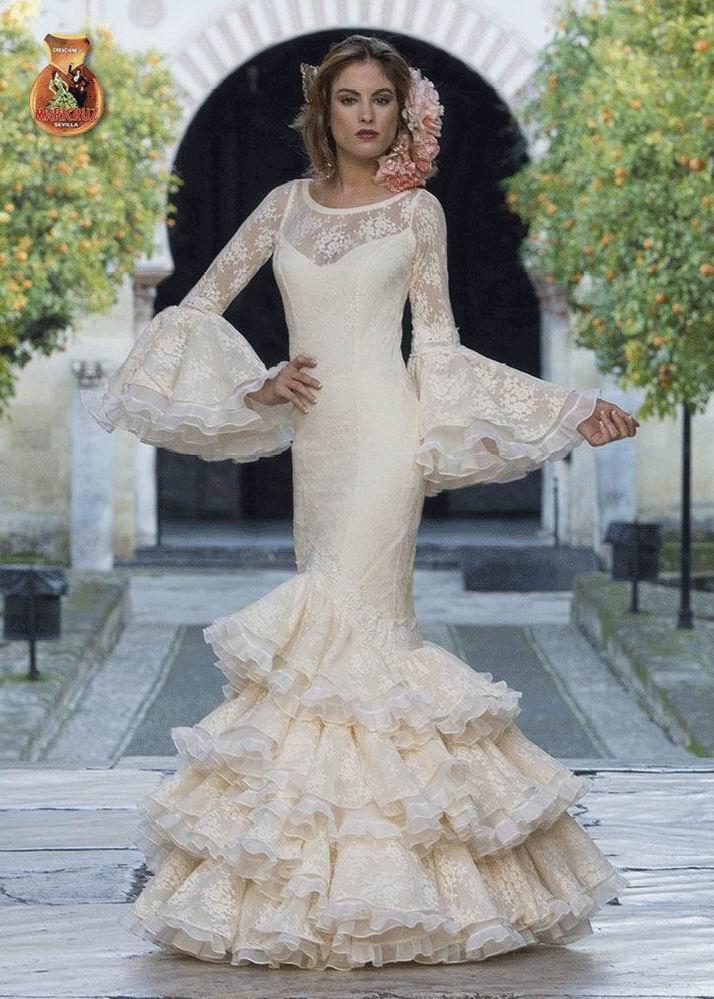 Vestidos de novia y trajes de boda flamencos
