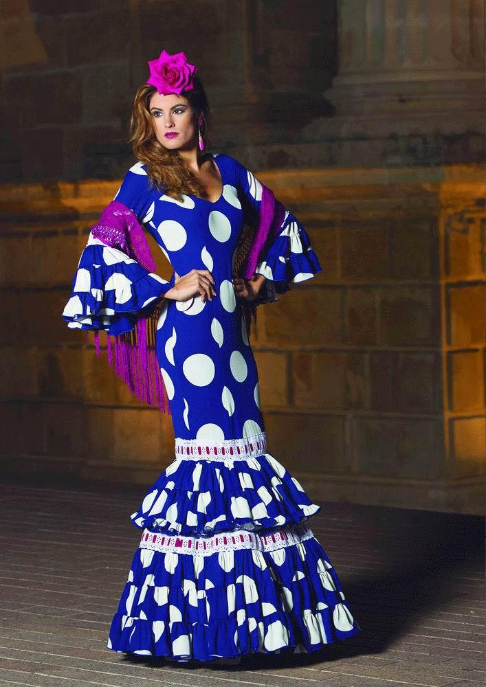Flamenca Dress Cortijo model. 2017-2018
