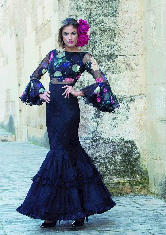364590759a2 Flamenca dress Dalia model of the 2017-2018 collection from Creaciones Mari  Cruz.