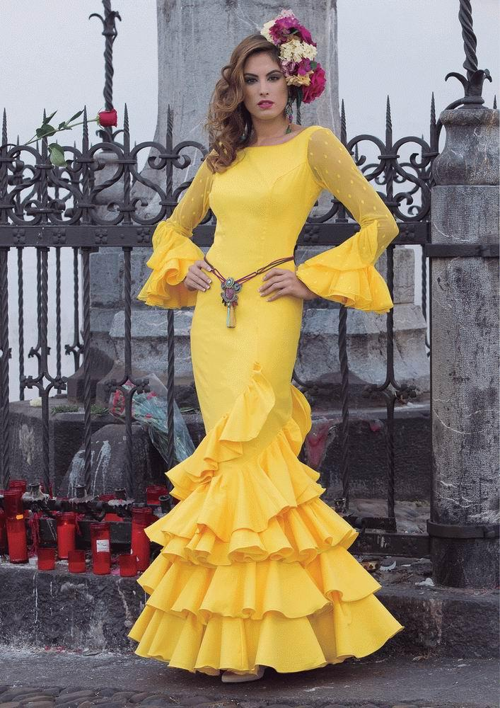 Flamenca Dress Girasol model. 2017-2018