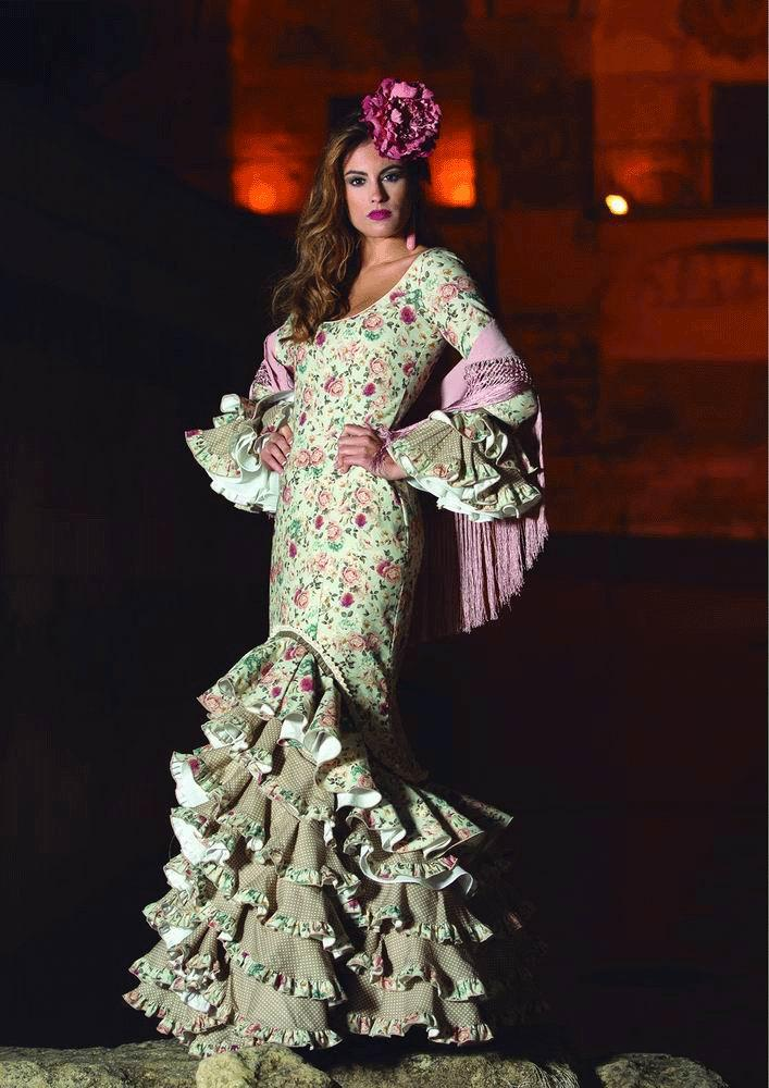 Flamenca Dress  Oasis Beig. 2017-2018