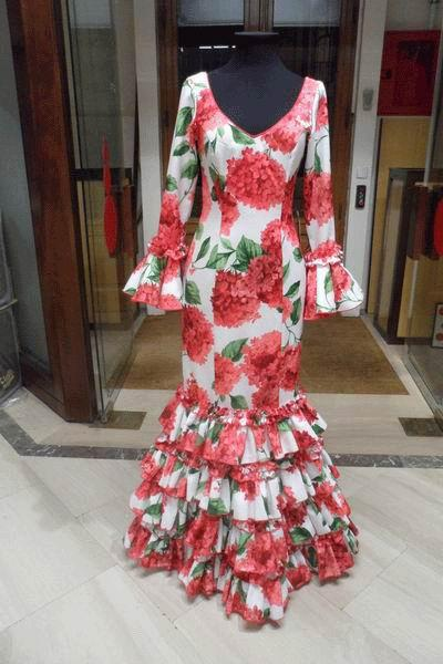 Outlet. Trajes de Flamenca Laurel T.38