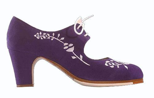 Flamenco shoes Begoña Cervera. Bordado Cordonera