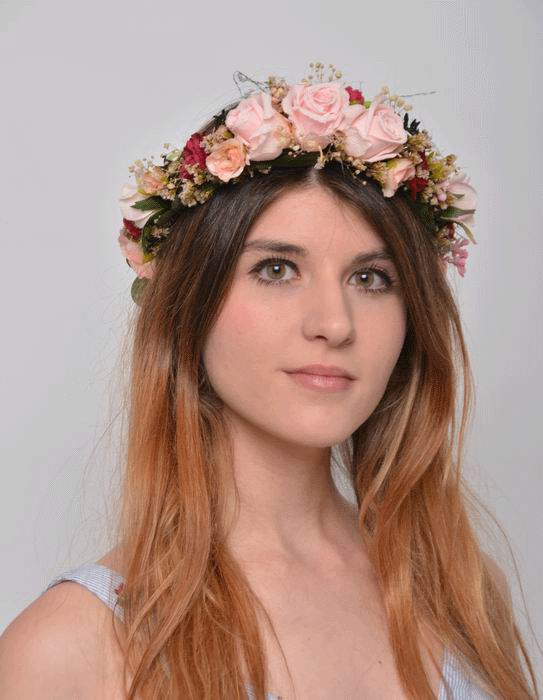 Floral Crown Adele. Preserved Flowers Boho Chic