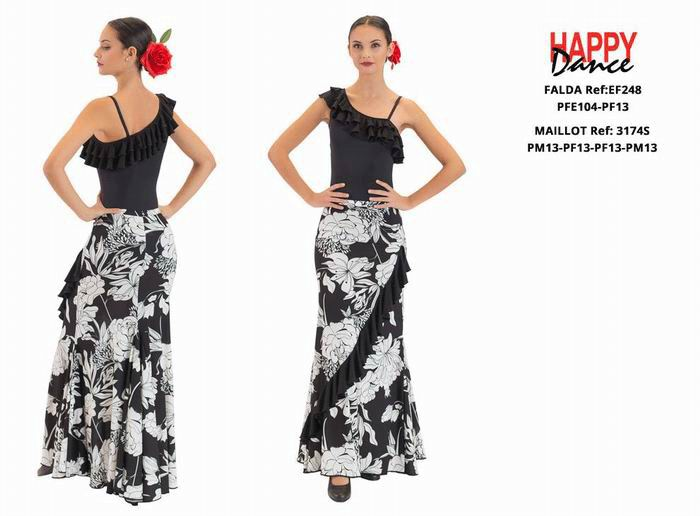 Conjuntos de flamenco para Adulto. Happy Dance. Ref. EF248PFE104PF13-3174SPM13PF13PF13PM13