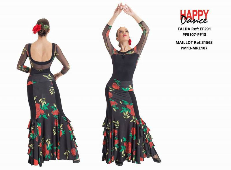 Flamenco Outfit for Women by Happy Dance.Ref. EF291PFE107PF13-3156SPM13MRE107