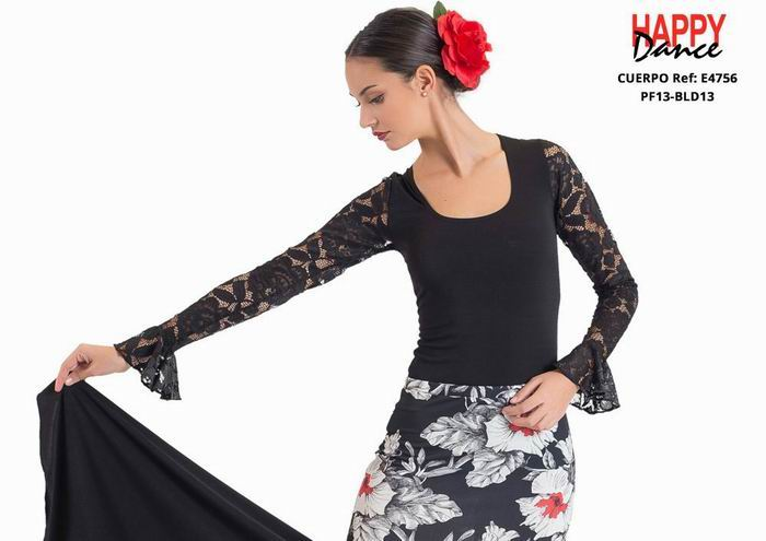 Maillots Flamencos Happy Dance. Ref. E4756PF13BLD13