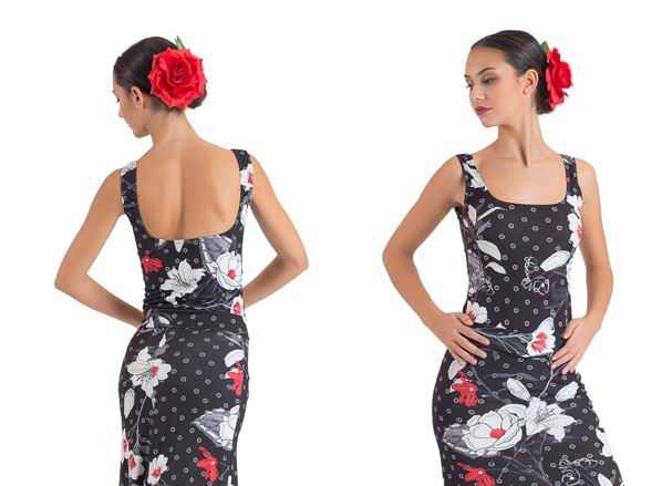 Flamenco Dance Maillots Happy Dance. Ref. E4548PFE103