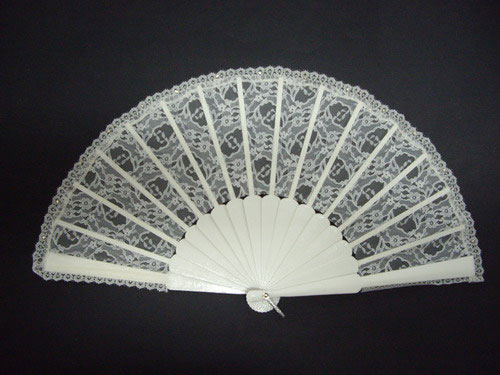 Fan for Bride With Diamante