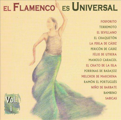 CD El flamenco es universal vol. 1
