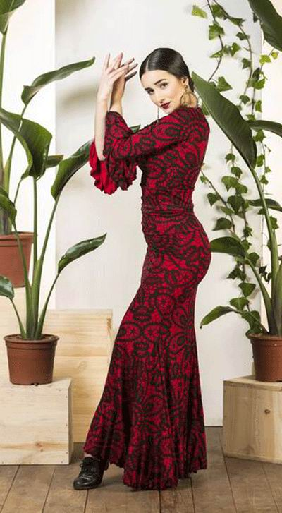 1d2c388bbba Faldas flamencas - Comprar faldas de flamenca baratas de baile y ensayo