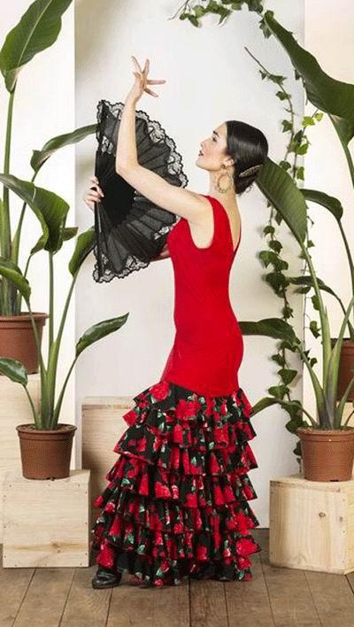 5608c8fb7 Trajes de baile flamenco y vestidos de baile flamenco - FlamencoExport