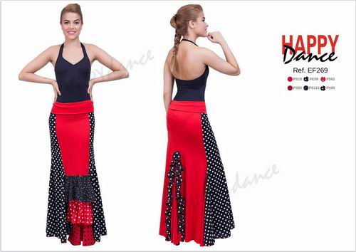 Faldas para Baile Flamenco Happy Dance Ref.EF269PS10PE09PS61PS63PS113PS60