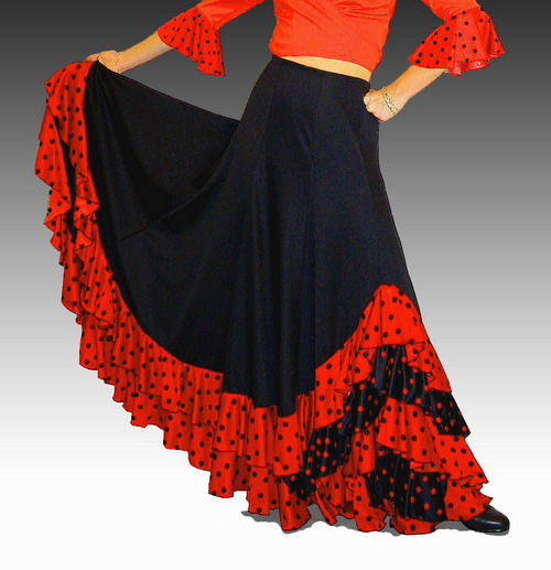 Handmade Flamenco Skirts