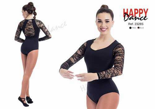 Maillot Manga Larga en Blonda Con Sujetador Happy Dance. Ref. 2328