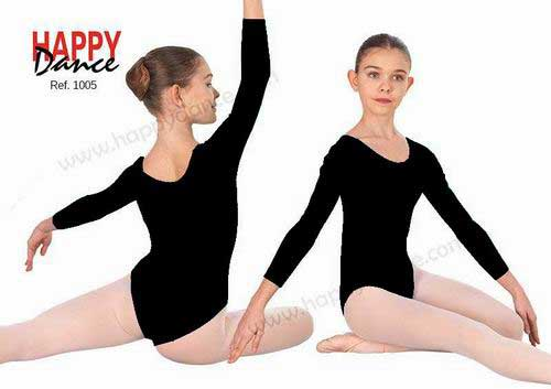 Girls' Leotards. Model Académico