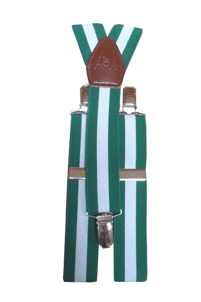 Andalusia's Flag Braces with Clothespins