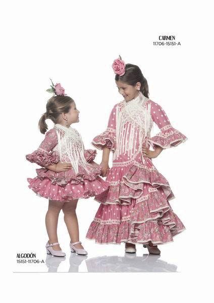 Trajes Flamenca Niña Flamencoexport