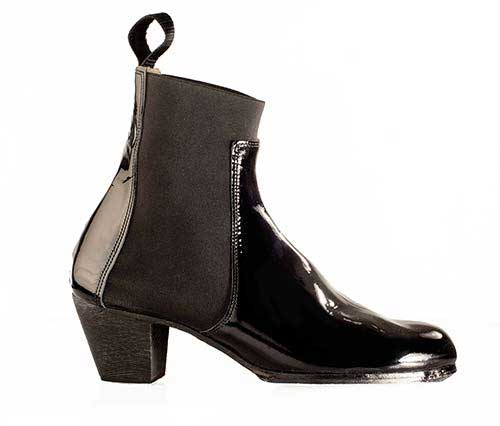 Ankle Boots Stretch Band for Woman. Begoña Cervera flamenco boots