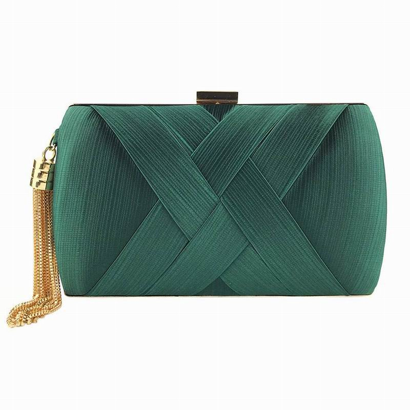 Rectangular Clutch in Green for Guest