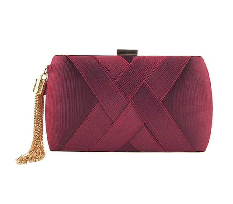 Burgundy Clutch for Guests