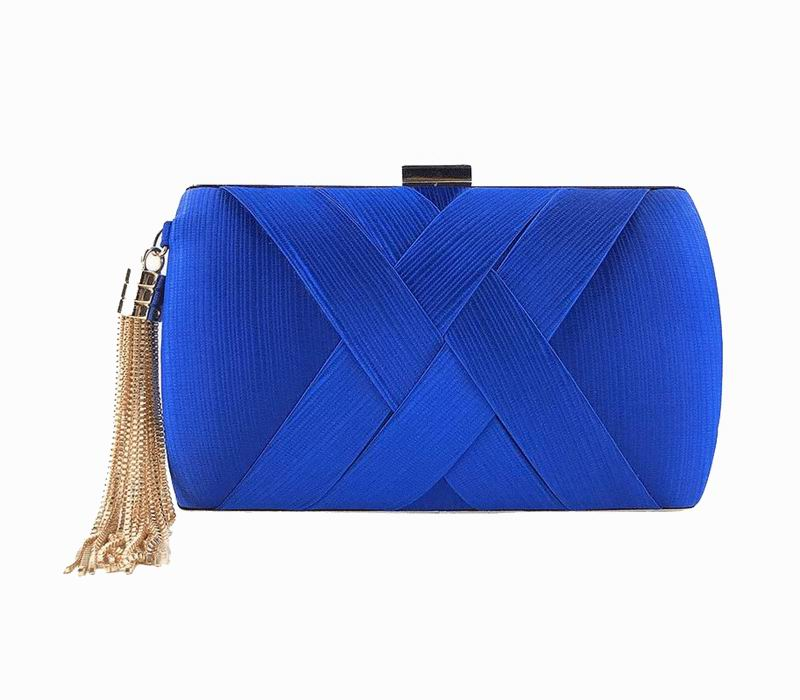 Dark Blue Clutch for Guest