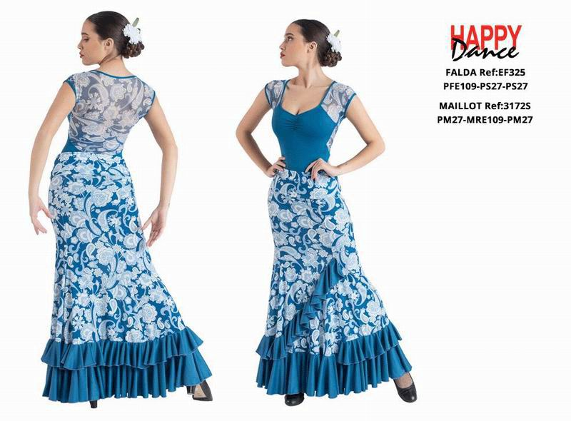 Flamenco Outfit for Women by Happy Dance. Ref. EF325PFE109PS27PS27-3172SPM27MRE109PM27