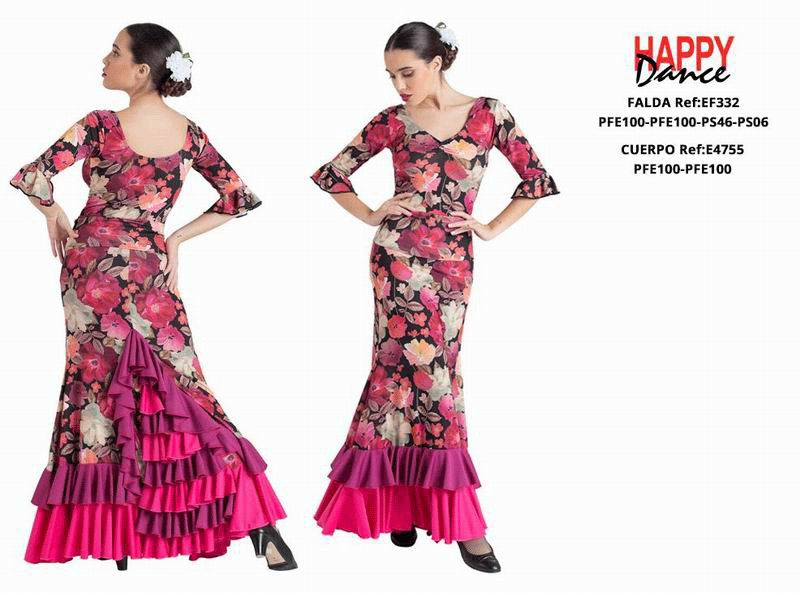 Happy Dance. Flamenco Skirts for Rehearsal and Stage. Ref. EF332PFE100PFE100PS46PS06