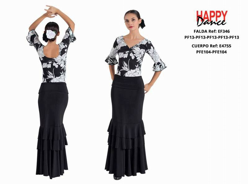 Happy Dance. Flamenco Skirts for Rehearsal and Stage. Ref. EF346PF13PF13PF13PF13PF13