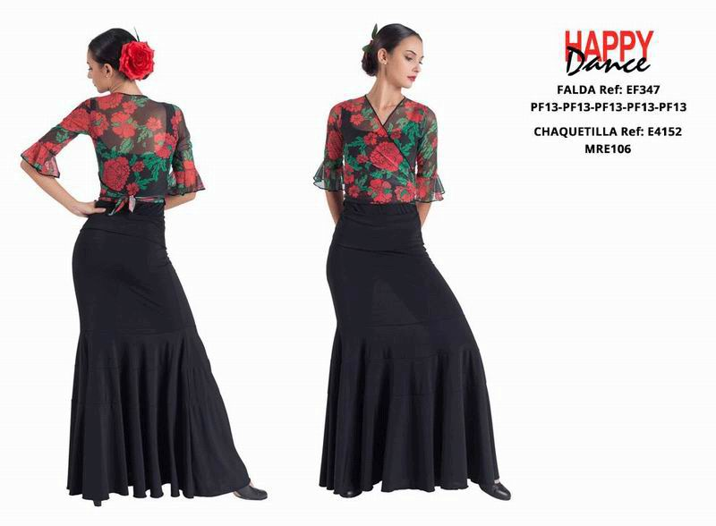 Happy Dance. Flamenco Skirts for Rehearsal and Stage. Ref. EF347PF13PF13PF13PF13PF13