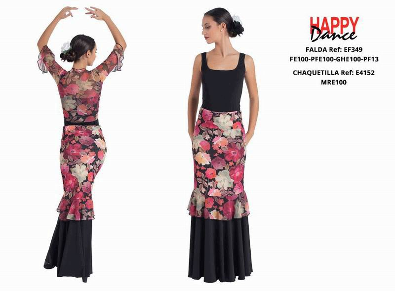 Happy Dance. Flamenco Skirts for Rehearsal and Stage. Ref. EF349PFE100PFE100GHE100PF13