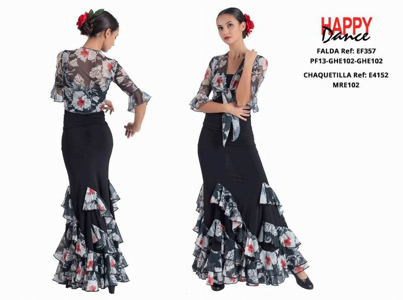Happy Dance. Flamenco Skirts for Rehearsal and Stage. Ref. EF357PF13GHE102GHE102