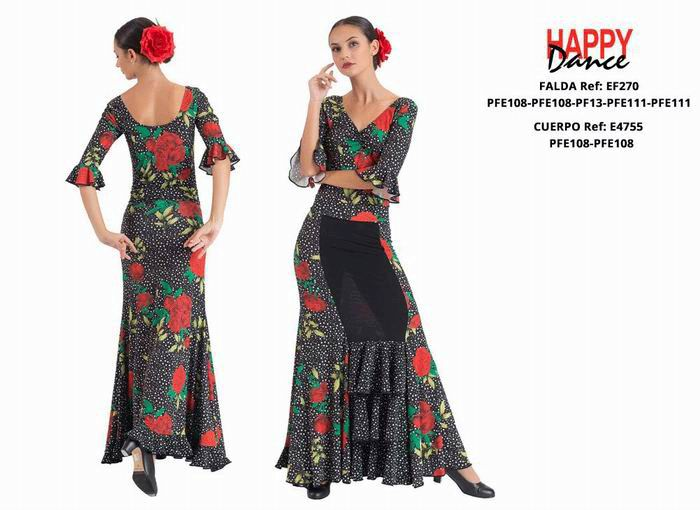 Flamenco Outfit for Women by Happy Dance.Ref. EF270PFE108PFE108PF13PFE111PFE111-E4755PFE108PFE108
